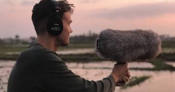 Aufnehmen mit einem Field Recorder